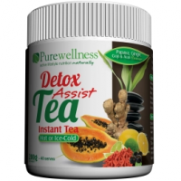 detox tea container