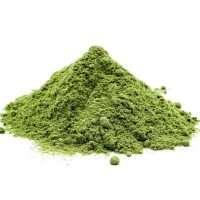 a green powder