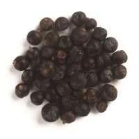 plump round juiper berry full of flavour